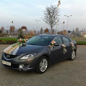Mazda 6 - авто на свадьбу в Донецке - портфолио 2