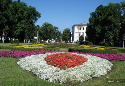 Круглая площадь (Корпусный сад) - портфолио 2